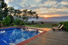 "Pool sunrise –  "" Tulbagh sunrise"""